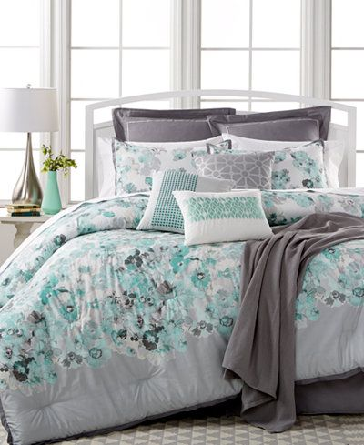 Closeout Cascavel 10 Piece Queen Comforter Set Reviews Bed In A Bag Bed Bath Macy S Comforter Sets King Comforter Sets Full Comforter Sets