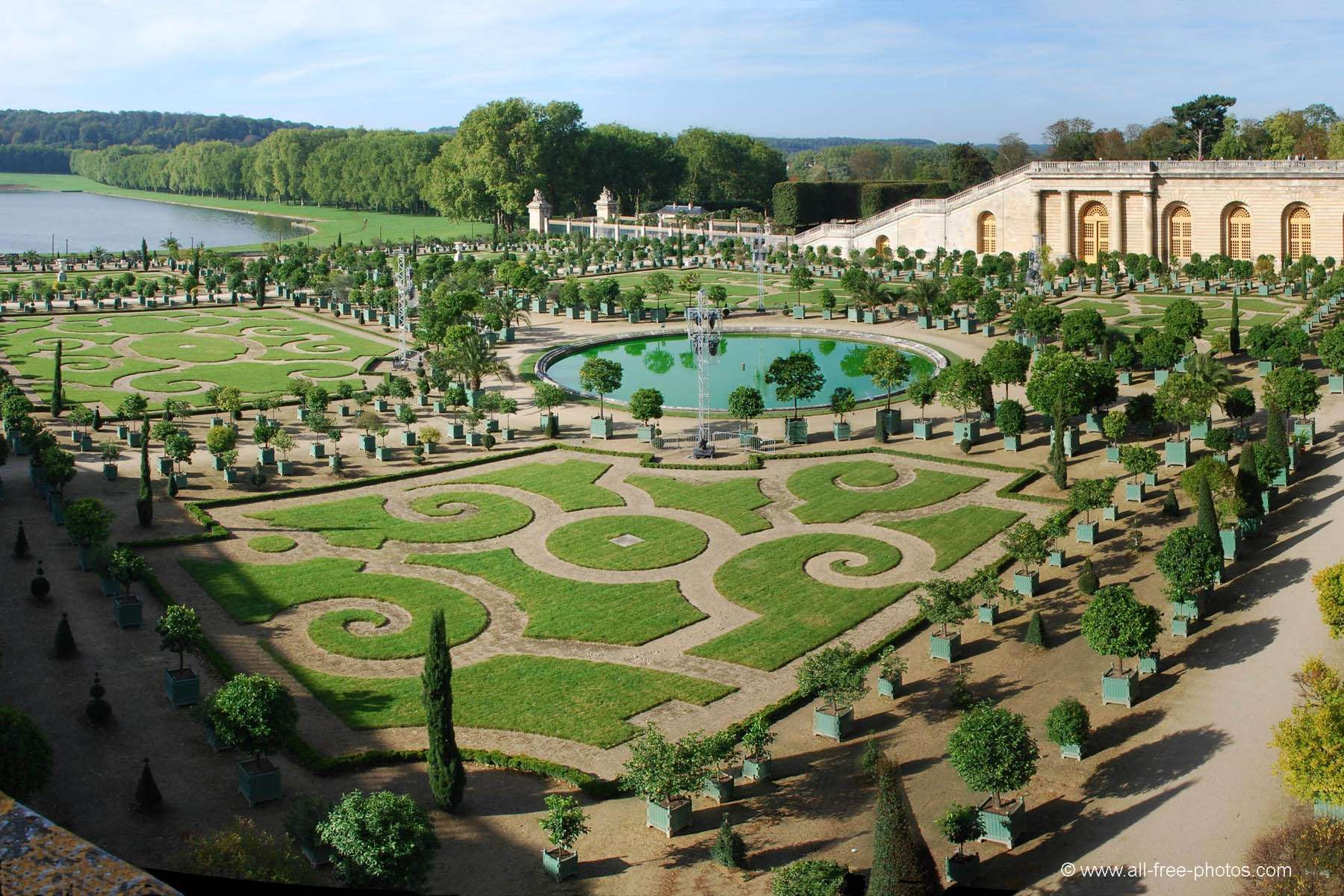 The OrangeryChateau at Versailles Most beautiful
