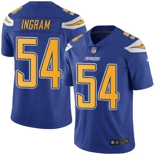 New Nike Chargers #54 Melvin Ingram Electric Blue Youth Stitched NFL  hot sale