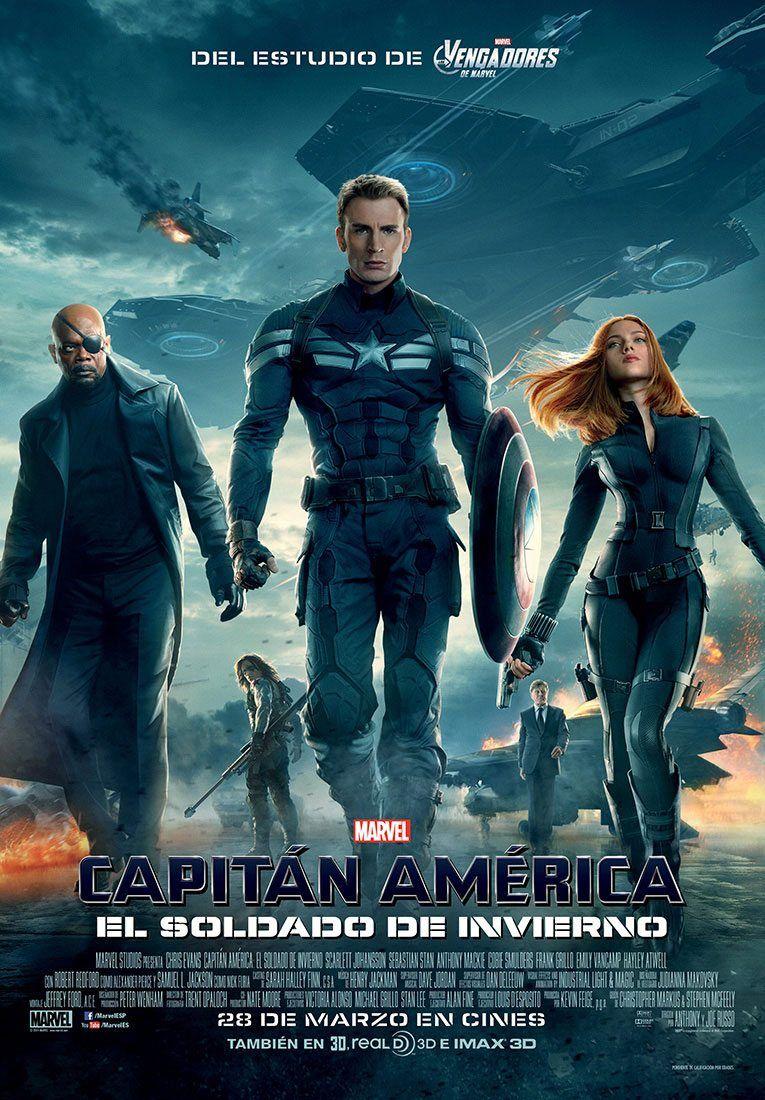 Capitan America Y El Soldado Del Invierno Mega Latino 720p Captain America Winter Soldier Marvel Movie Posters Winter Soldier