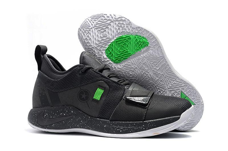 df1a837e6b15 Nike PG 2.5 Dark Grey Bright Green BQ8452-007 in 2019