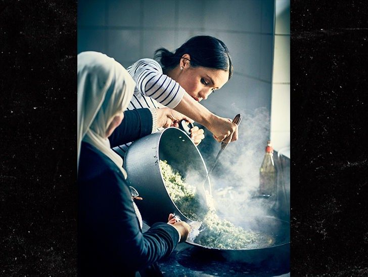 Meghan Markle Cooks With Victims of Grenfell Tower Fire, Releases Charity Cookbook #VPCHURCHILL