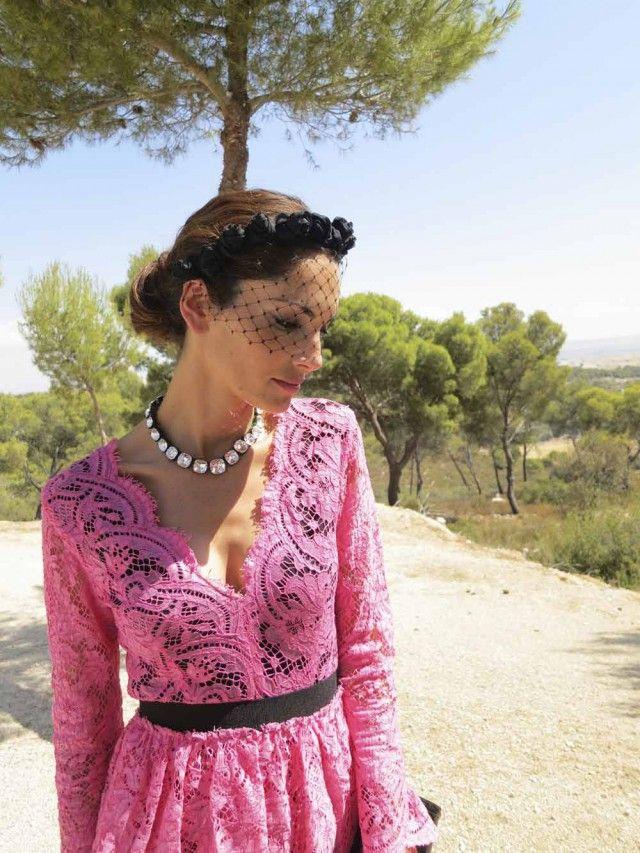 eugenia silva | invitadas | vestidos boda de dia, look boda y tocados