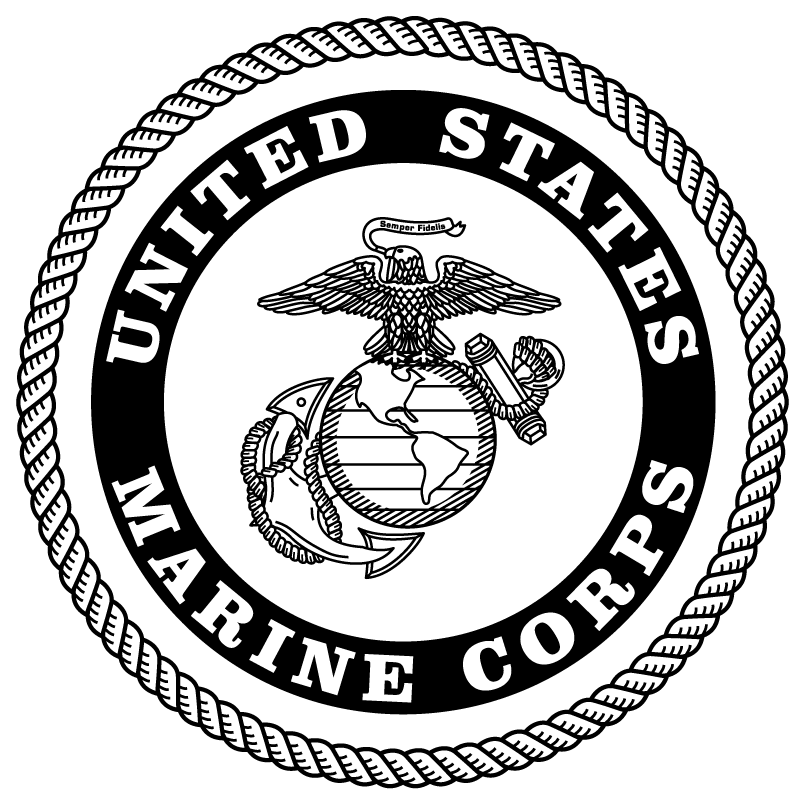 Image Result For Black And White Marine Corp Logo