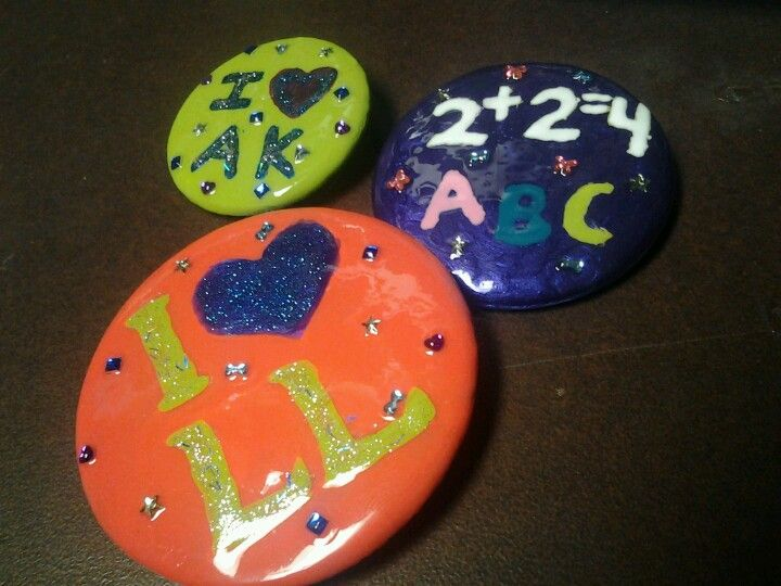 buttons made with nail Polish, my boyfriend and my ...