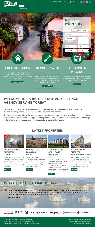 Barbets Estate Agents 52 Hyde Road Paignton Devon TQ4 5BY