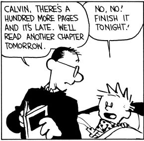 Image result for calvin and hobbes chapter