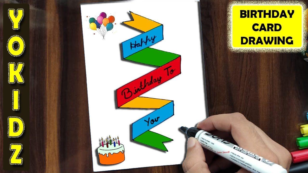 15 Birthday Cards Diy Birthday Cards Easy Ideas In 2021 Birthday Card Drawing Birthday Card Craft Birthday Cards For Mom