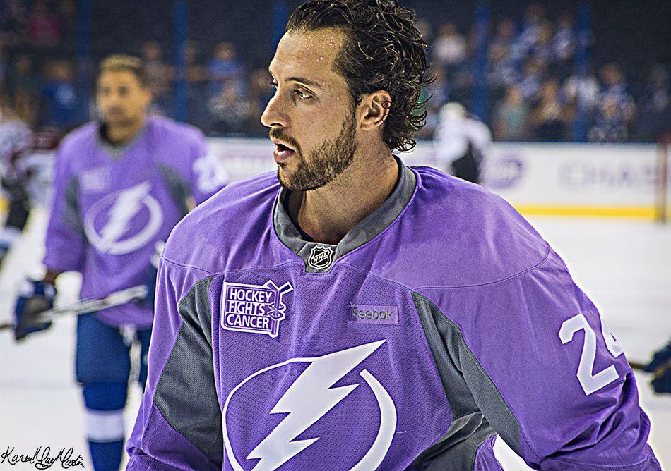 Karenmaymartin In 2020 Hockey Fights Ryan Callahan Tampa Bay Lightning Hockey