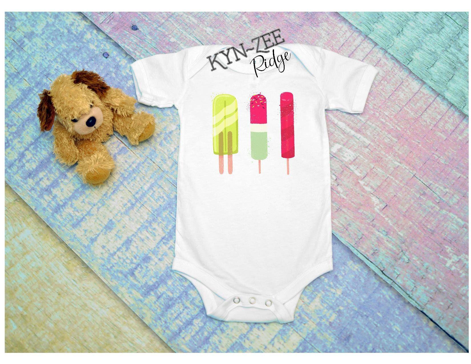 e461e5816ee1 Popsicles Bodysuit