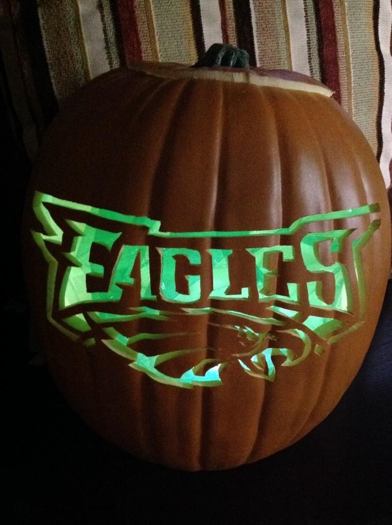 2a3e57e5a85 Rocking  Eagles Green this Halloween!