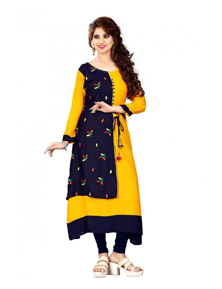 e7a3ffca582d #New #Designer #Kurti With #Amazing #Style. #Women #NewStyle #Calturer &  #Fashionable #Attractive #Look #Kurti. #hairnew #designerkurti  #partyweardress ...