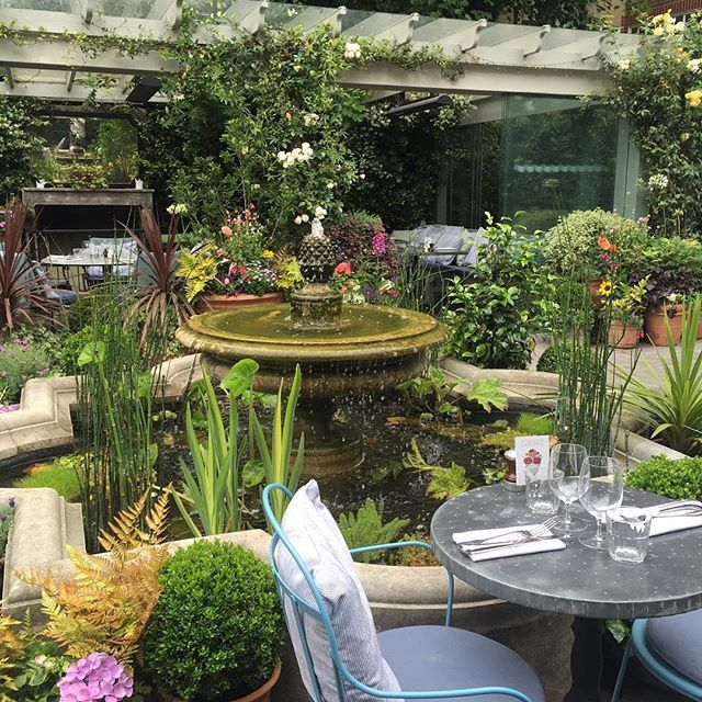 The Ivy Garden Chelsea The extensive menus at The Ivy