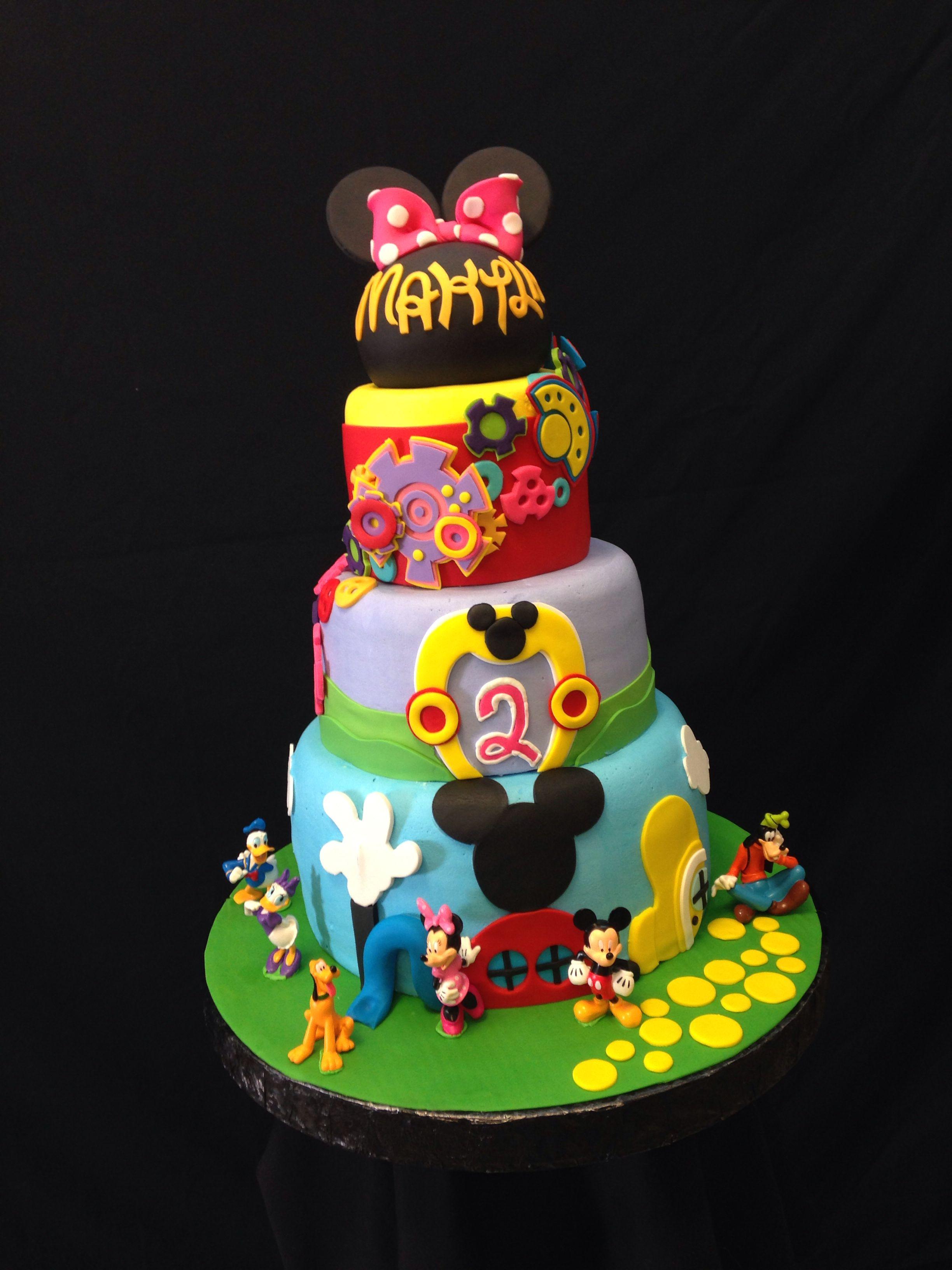 Royalty Cakes Chino California Disneyland Mickeymouseclubhouse