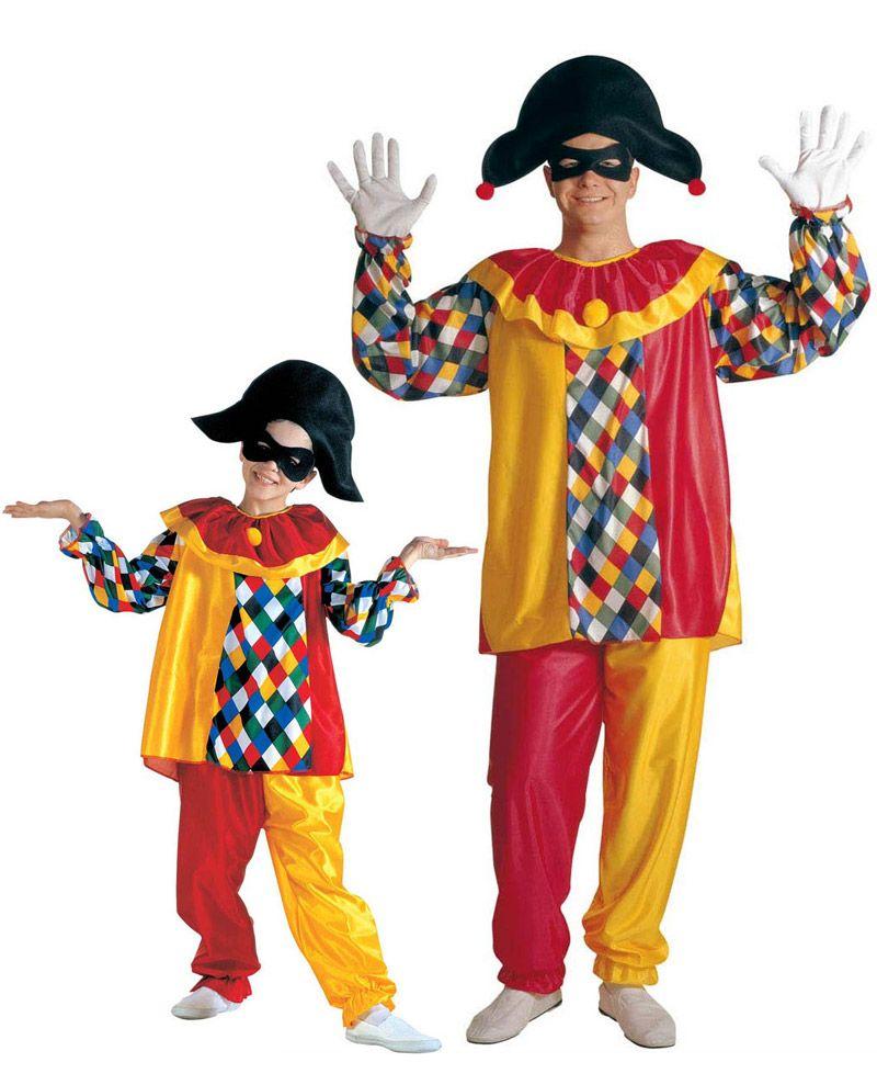 Disfraz de pareja arlequín padre e hijo  Disfraz de arlequín niñoEste  disfraz de arlequín para c93fe079982