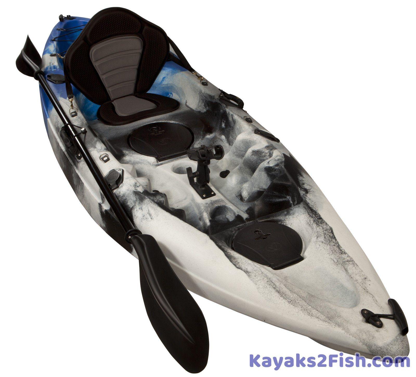 Blue Camo Fishing Kayak Fishing Kayak Kayak For Sale Sea Kayak
