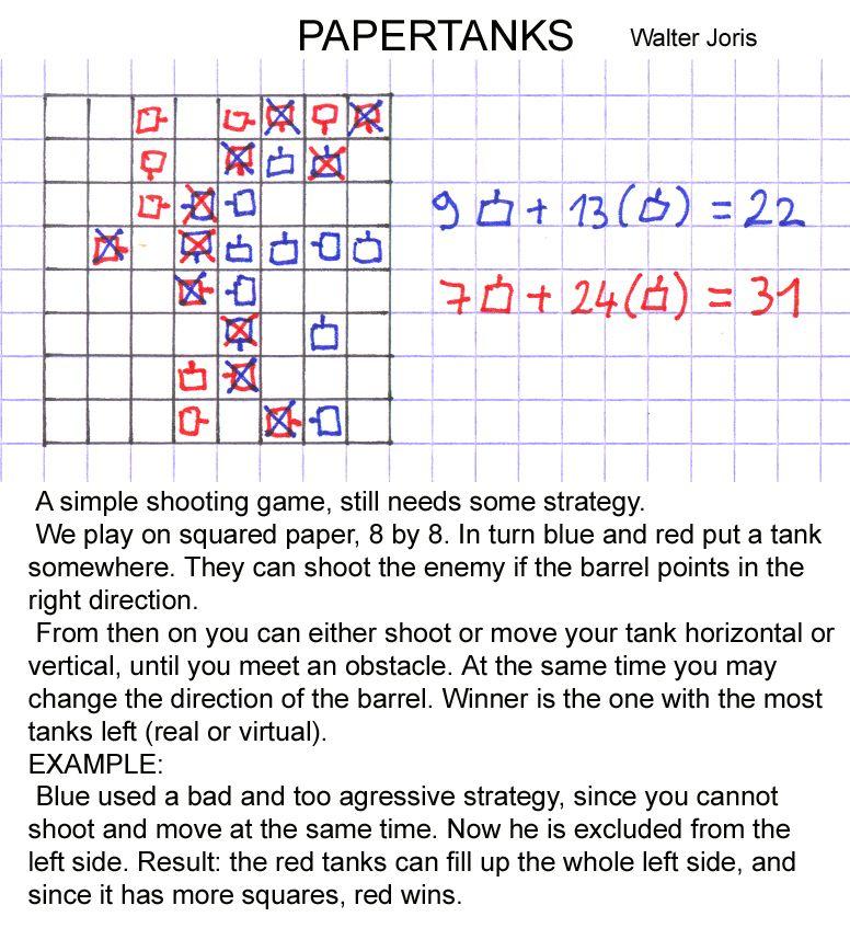 walterjoris #mathgames #penpapergames #papergames Math games 1