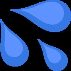 Sweat Droplets On Facebook 2 2 1 Emoji Images Emoji Droplets