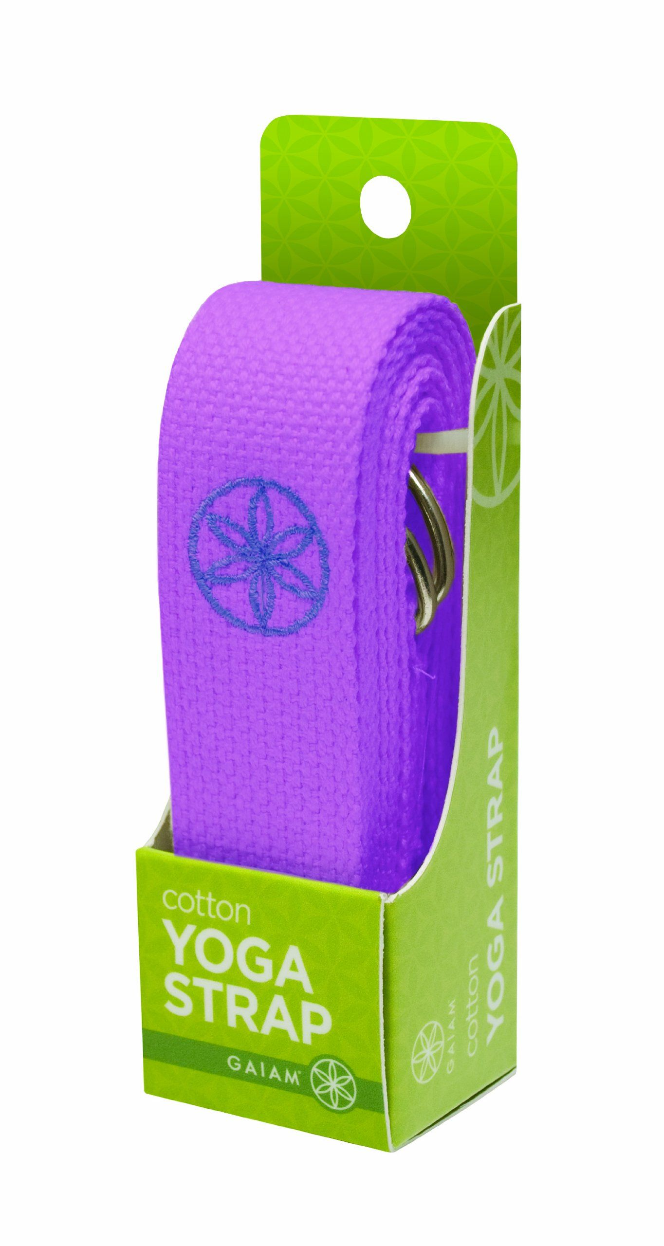 Gaiam Yoga Strap 6 Purple Continue To The Product At The Image Link This Is An Affiliate Link Yoga Strap Gaiam Yoga Gaiam