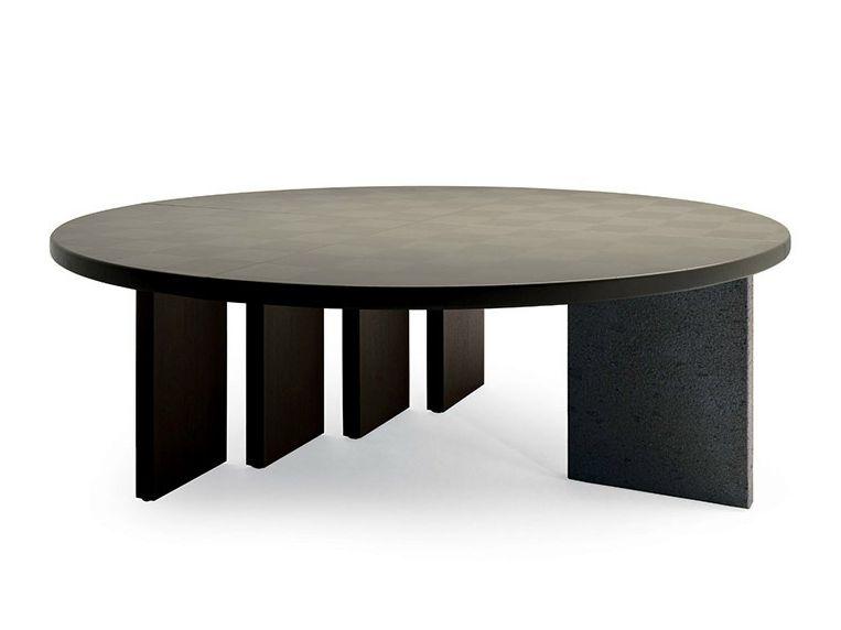 Tavolo Frau ~ H o meeting round meeting table by poltrona frau design claudio
