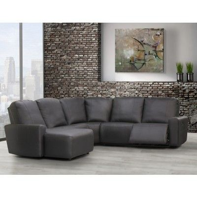 Elran 4043 Sectionnel Inclinable Electrique Salon Reclining