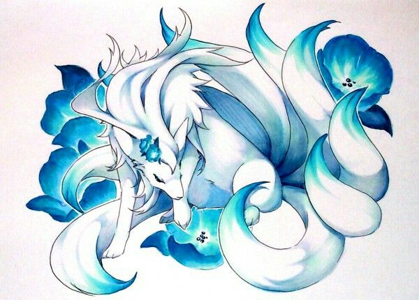 mega Ninetales | Pokemon, Anime, Pokemon art
