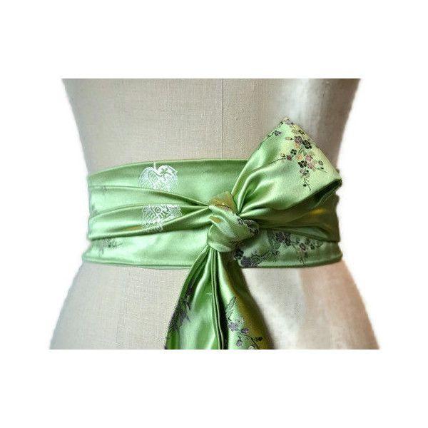 brocade cincher Asian waist