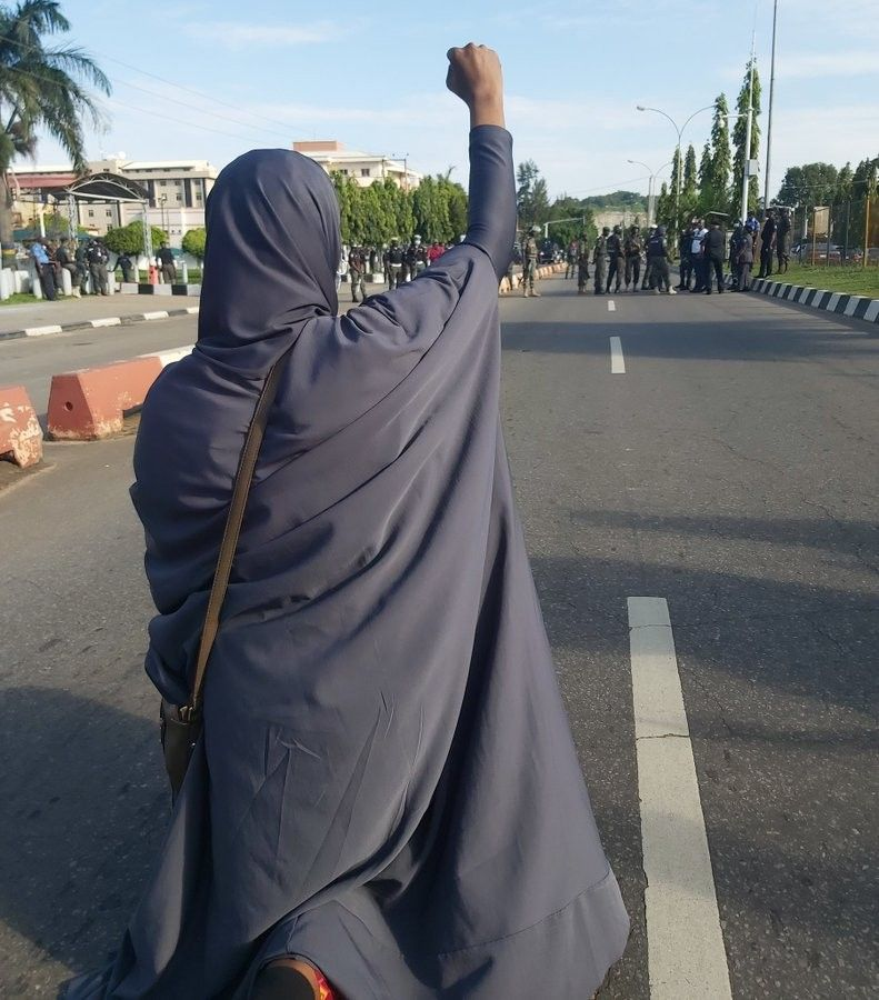 Aisha Yesufu. End SARS #endpolicebrutality #endSARS   Rise against, Aisha