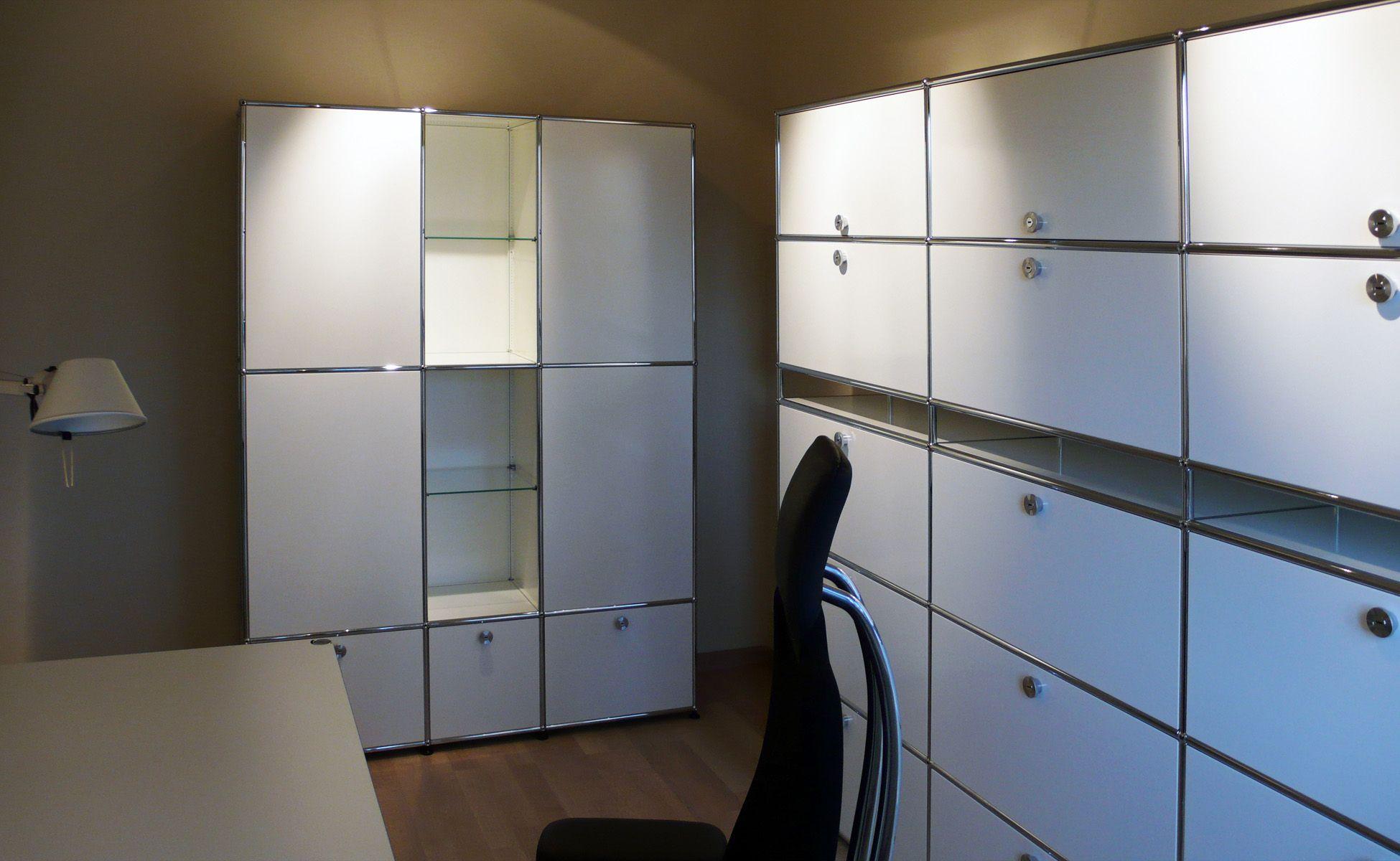 vitra bürostuhl + usm arbeitszimmer steidten+ in berlin | usm haller ...
