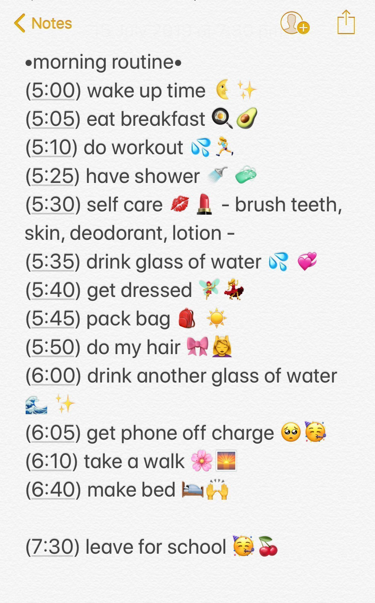 School Morning Routine Beauty Hacks For Teens Every