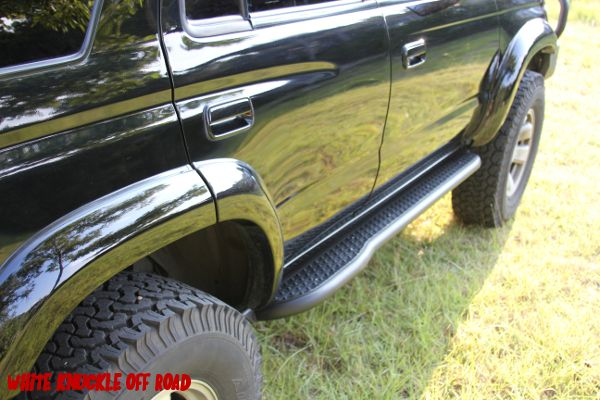 Toyota 4runner 3rd Generation 1996 2002 Rock Sliders White Knuckle Off Road Products 4runner Toyota 4runner Rock Sliders