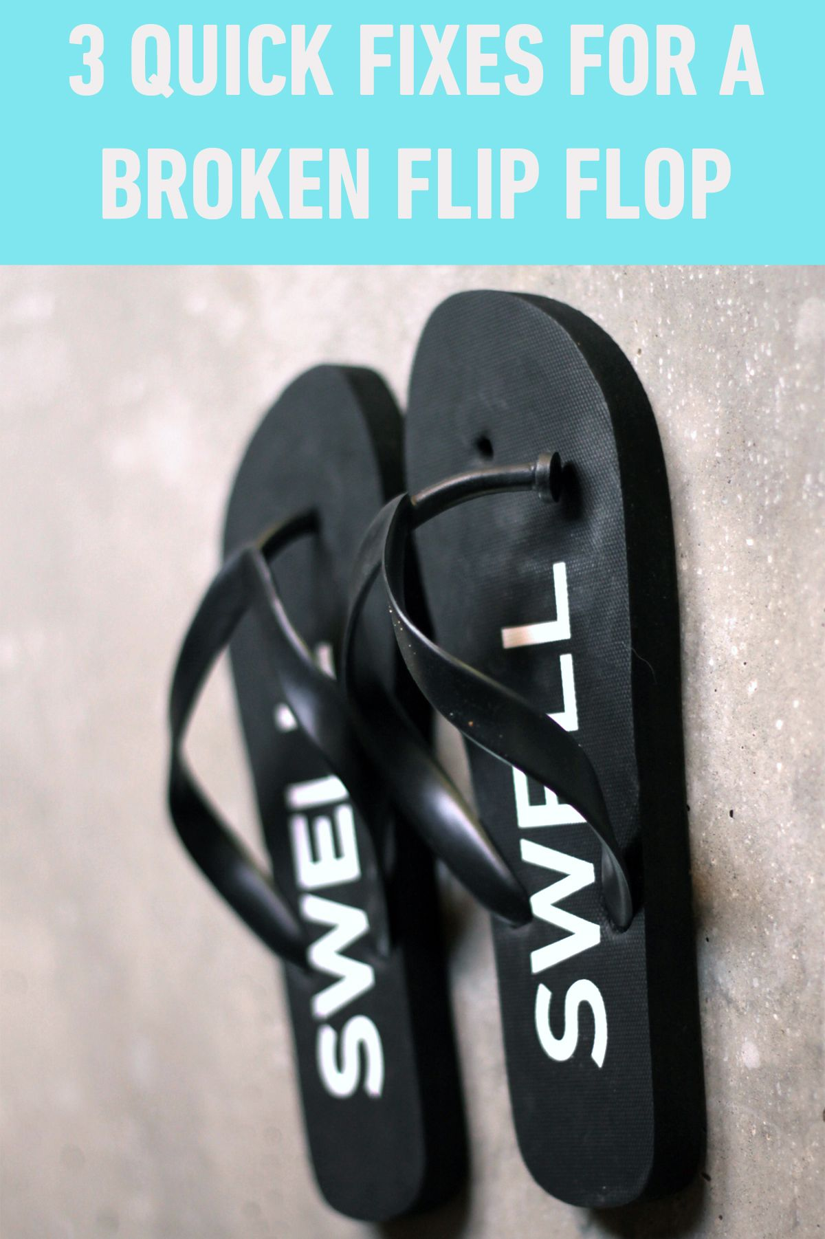 c68671221c57 DIY  How to fix a broken sandal. http   blog.swell.com How-To-Fix-A ...