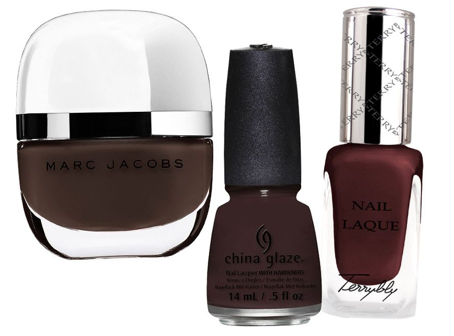 New Mani Colors for Fall - CHOCOLATE - #InStyle