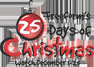 25 Days Of Christmas and Freeform Logos 25 days of