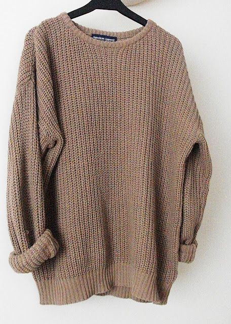 d1de337b4b oversized sweaters.... fall | Most Popular Pins EVER | Baggy sweater ...