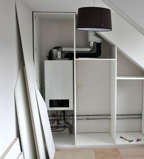 zolder slaapkamer inspiratie - Google Search | ideeën huis ...