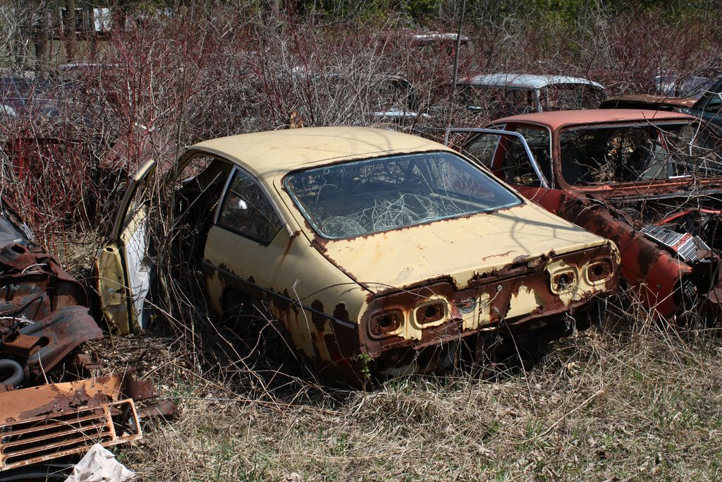 1972 Vega Hatchback Chevrolet Vega Abandoned Cars Hatchback