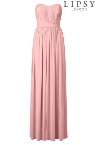 Buy Lipsy Bella Bandeau Multiway Maxi Dress from the Next UK online ...