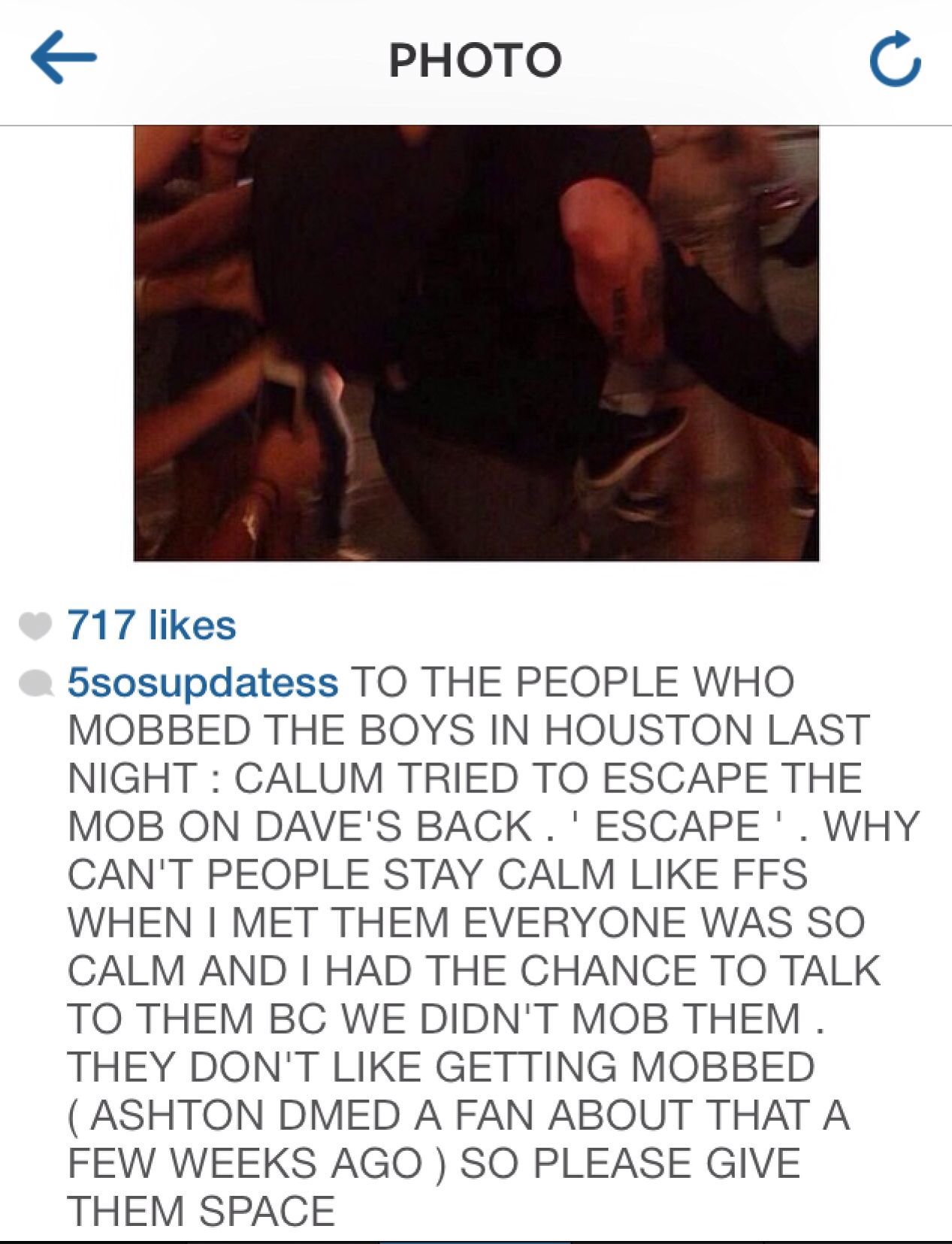 My rant lol <<< I completely agree with it. The 5sosfam used to be so calm and we all got too meet them, and it's getting crazier and it sucks