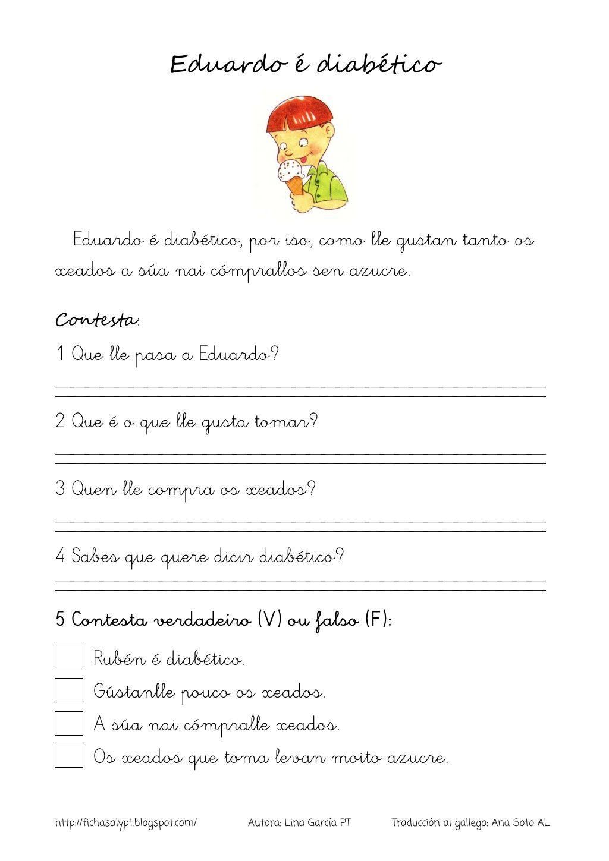 Lecturas comprensivas 17 20 galego by nomenterodelapataca via ...