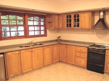 cocina en puerta tablero Roble-Cerejeira   Ideas para el hogar ...