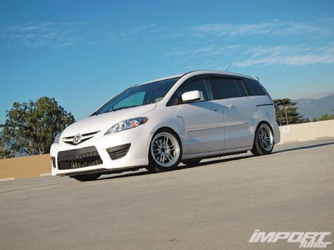 2009 Mazda5 Sport Power Pages Import Tuner Magazine With