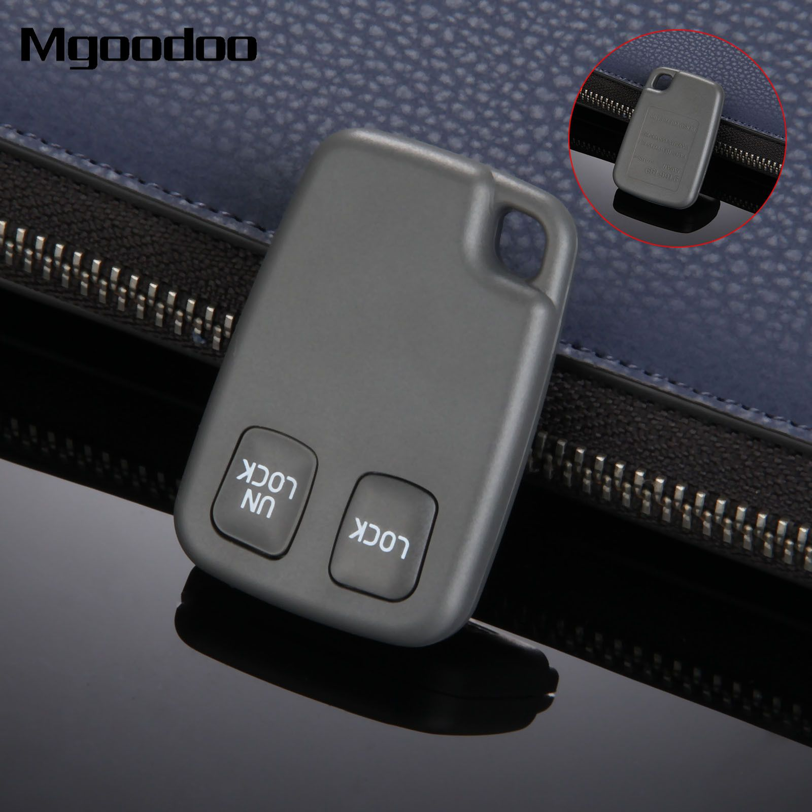 Mgoodoo 2 Button Car Remote Key Blank Fob Case For VOLVO C70 S40 S60