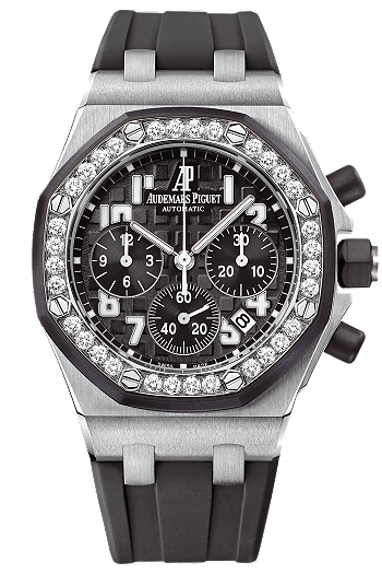 bc9a7146fec Audemars Piguet Royal Oak Offshore #Chronograph with #Diamonds #womens # fashion #ladies #watch #watches #accessories #accessory
