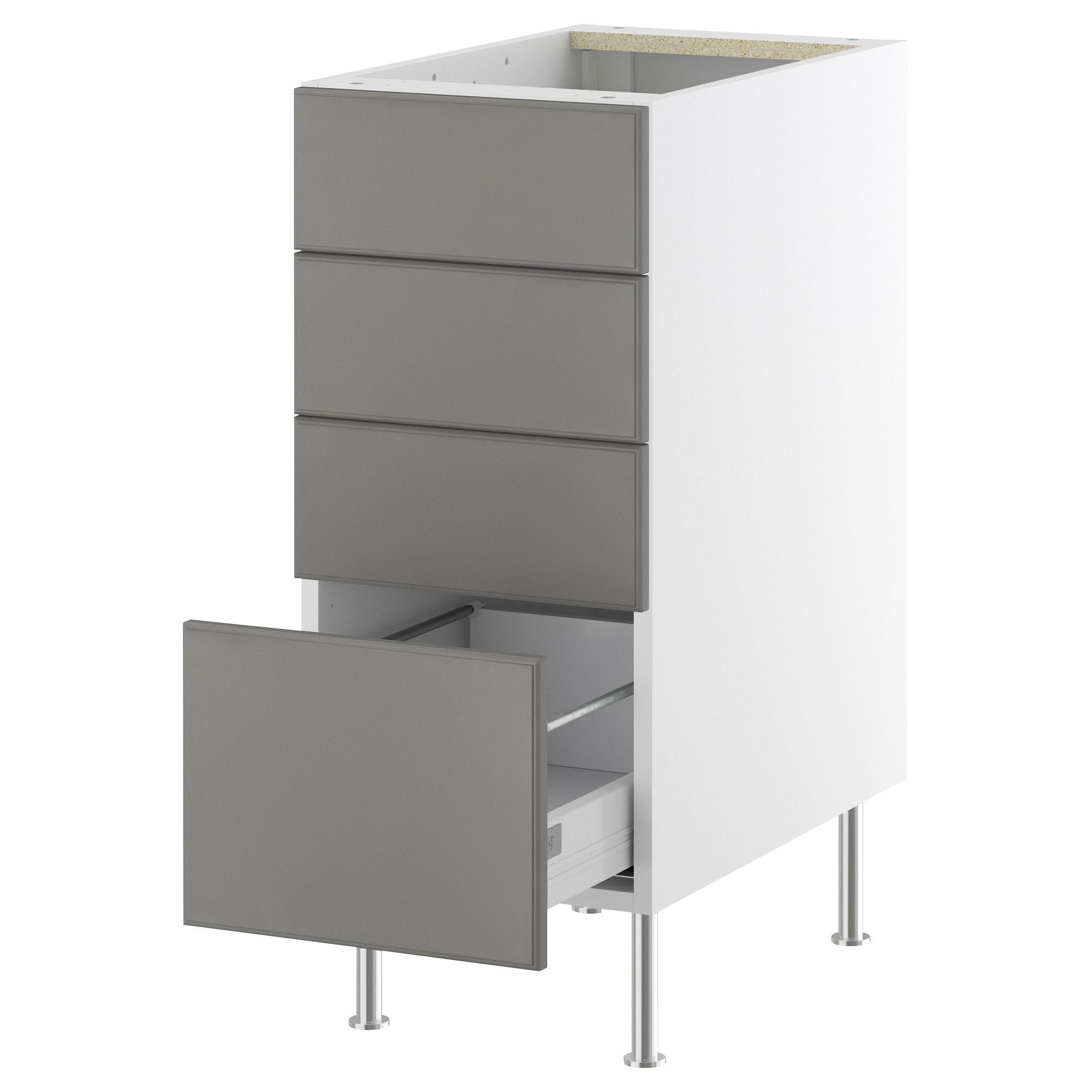 Interior Akurum Base Cabinet akurum base cabinet with 4 drawers white lidi gray 15 and 18 18