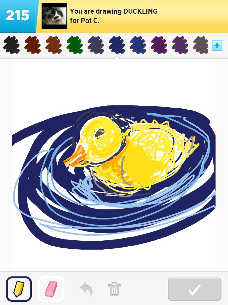 Duckling - DrawSomething by Shannon Miller 2012