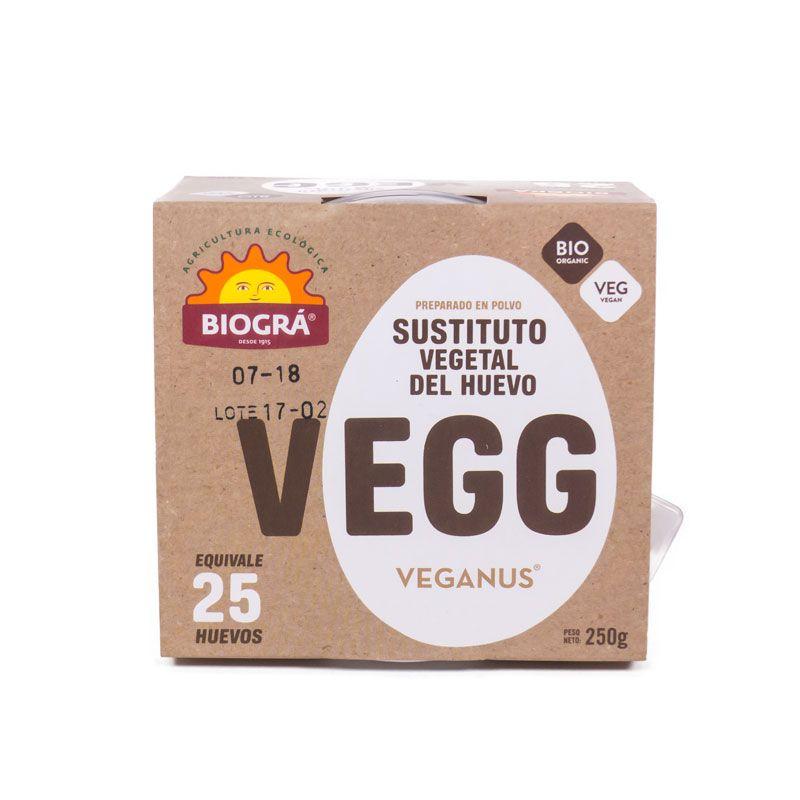 Sustituto vegetal del huevo 250 gr. Biográ