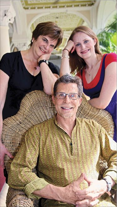 Chef Rick Bayless With Wife Deann And Daughter Lanie