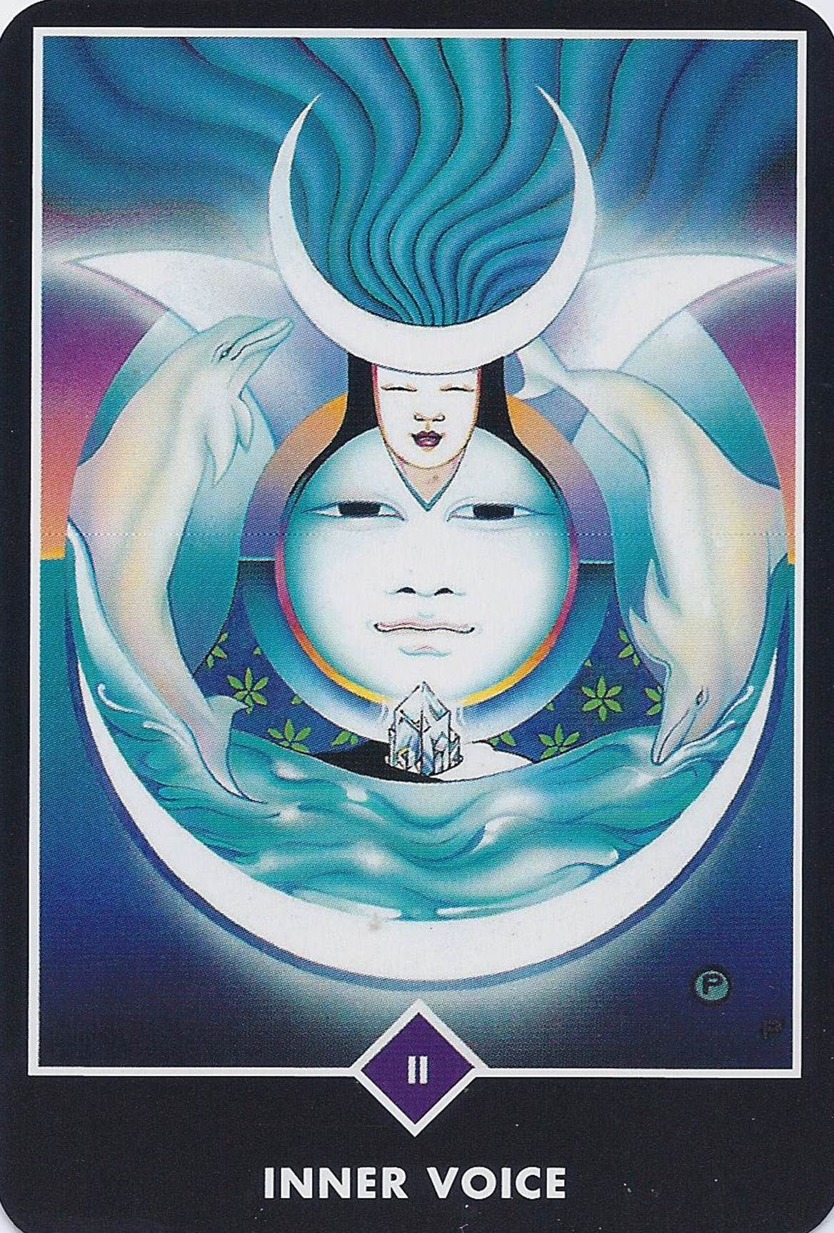 The high priestess osho zen tarot deck pinterest tarot and inner voice from the osho zen tarot deck illustrated by ma deva padma geenschuldenfo Image collections