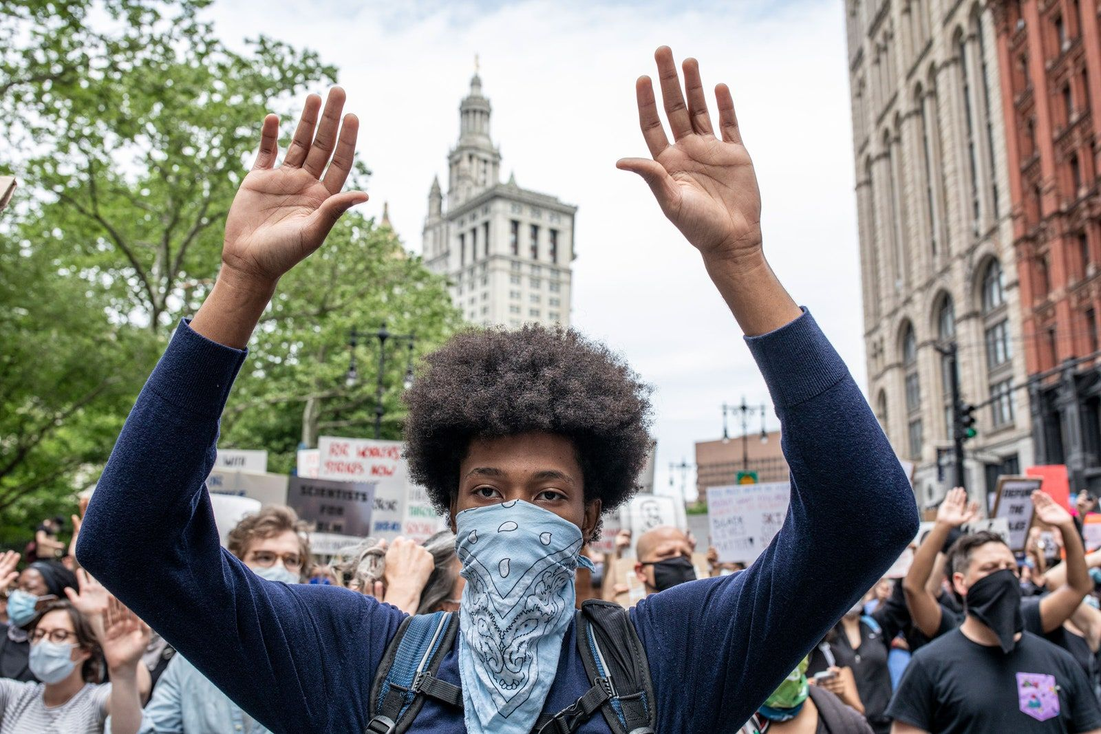 Scenes From New York S Fight For Black Lives Black Lives Black Lives Matter Protest Life